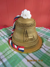The famous bell cake