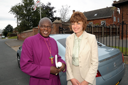 Helen and Dr John Sentamu